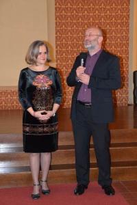 Olga Mikulášová - Paličkovaná krajka, vernisáž výstavy 13.11. 2014