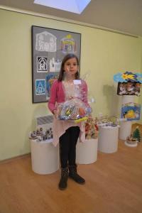 """Kouzlo Vánoc - ocenění dětí za soutěž """"Malujeme a tvoříme betlémy"""""""