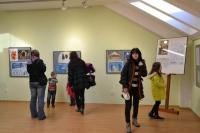 Kouzlo Vánoc výstava prací z výtvarné dětské soutěže