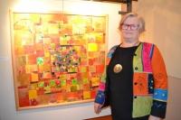 Eva Černohorská - koláže, vernisáž výstavy 29. 1. 2015