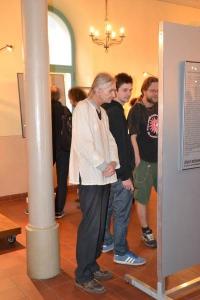 Vernisáž výstavy 27. 3. 2015