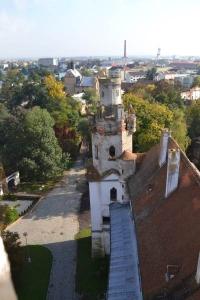 Vyhlídka ze zámecké věže