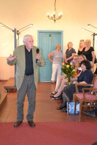 Vernisáž výstavy 12. 6. 2015, Adolf Born - výběr z díla