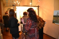 Vernisáž výstavy Dagmar Dvořáčkové - Přírodě s láskou