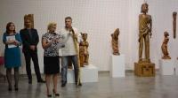 22.9.2016 vernisáž výstavy František Varga - Kov vetkaný do dřeva