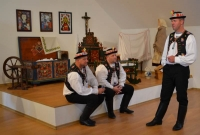Foto ze zahájení výstavy Lidová zbožnost na Slovácku