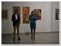 Vernisáž výstavy Mužský a ženský princip ve tvorbě Sdružení břeclavských výtvarníků.