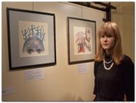 Vernisáž výstavy - Julie Vojtková Hlavanehlava