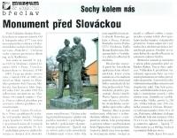 Monument před Slováckou
