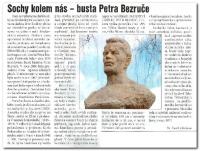 Busta Petra Bezruče