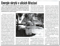 Energie skrytá v ulicích Břeclavi