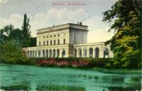 Dobová pohlednice zámečku Pohansko