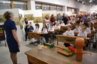 Vernisáž výstavy Máma mele maso aneb Kdysi před tabulí